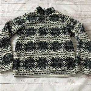 Prince & Fox sherpa girls sweater size large